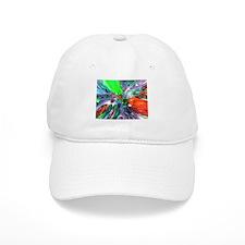 Colorful Glass Rings Baseball Baseball Cap