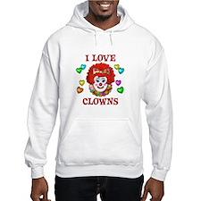 I Love Clowns Hoodie