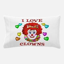 I Love Clowns Pillow Case