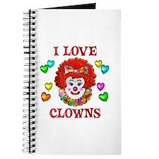I Love Clowns Journal