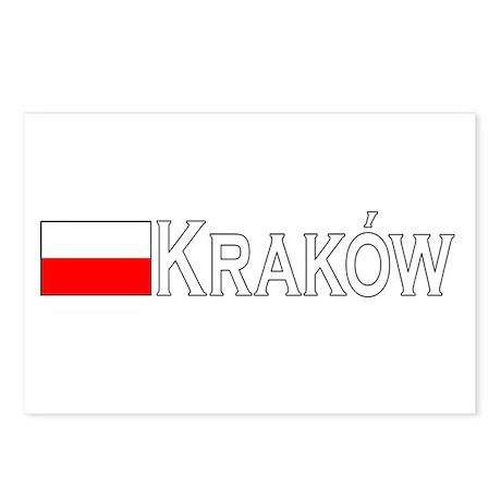 Krakow, Poland Postcards (Package of 8)
