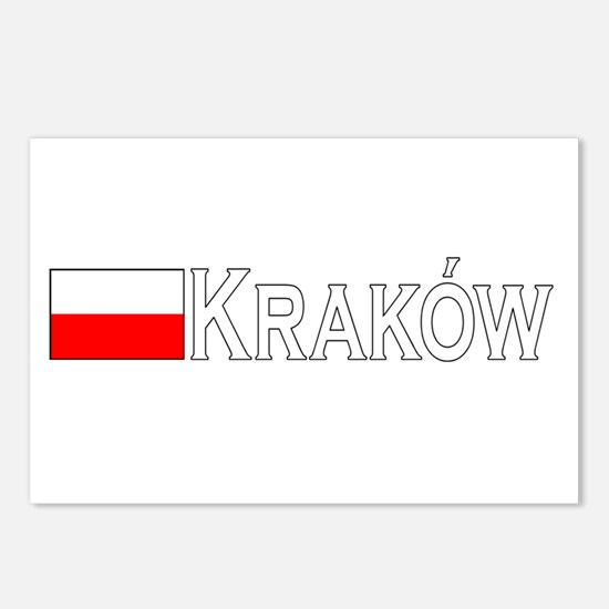 Krakow, Poland Postcards (Package of 8)