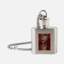 Gingersnap Flask Necklace