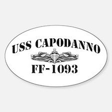 USS CAPODANNO Decal