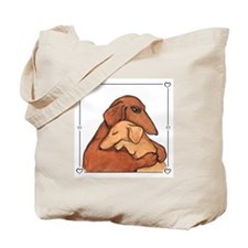 Dog Mom Tote Bag