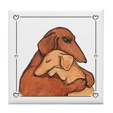 Dog Mom Tile Coaster