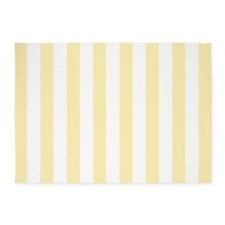 Light Yellow Stripes 5'x7'area Rug