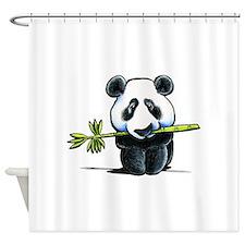 Panda Bamboo Shower Curtain