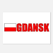 Gdansk, Poland Postcards (Package of 8)