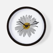 Daisy Cutout Wall Clock