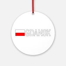 Gdansk, Poland Ornament (Round)