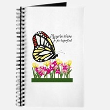 My Garden Is Home To The Butterflies! Journal