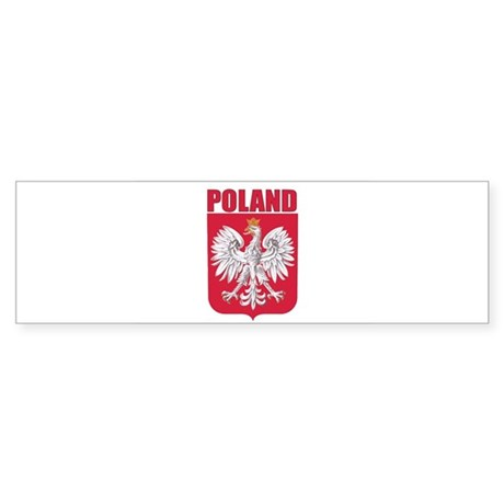 Poland Coat of Arms Bumper Sticker