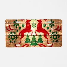 nordic reindeer pattern vintage christmas Aluminum