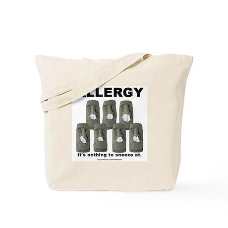 Allergy Moais Tote Bag