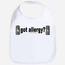 Allergy Moais Bib