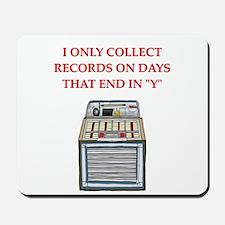 records Mousepad