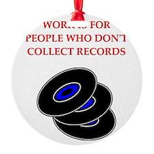 records Ornament