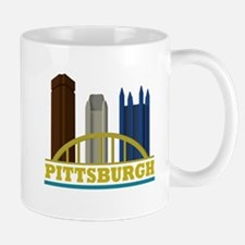 Pittsburgh Pennsylvania Skyline Mug