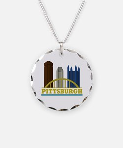 Pittsburgh Pennsylvania Skyl Necklace
