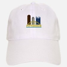 Pittsburgh Pennsylvania Skyline Baseball Baseball Cap
