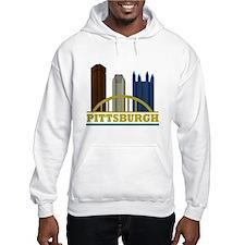 Pittsburgh Pennsylvania Skyline Hoodie