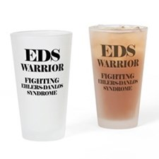 EDS Warrior Drinking Glass