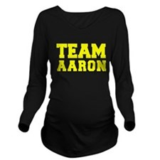 TEAM AARON Long Sleeve Maternity T-Shirt