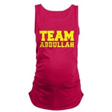 TEAM ABDULLAH Maternity Tank Top