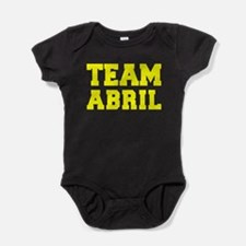 TEAM ABRIL Baby Bodysuit