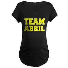 TEAM ABRIL Maternity T-Shirt