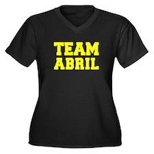 TEAM ABRIL Plus Size T-Shirt