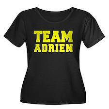 TEAM ADRIEN Plus Size T-Shirt
