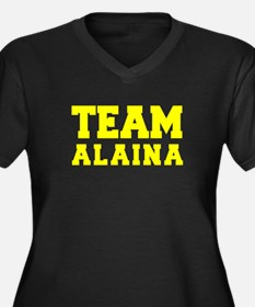 TEAM ALAINA Plus Size T-Shirt