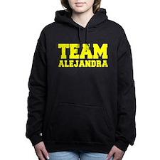 TEAM ALEJANDRA Women's Hooded Sweatshirt