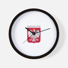 Breslau, Poland Wall Clock