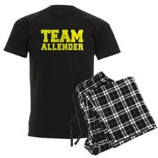 TEAM ALLENDER Pajamas