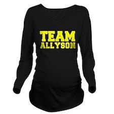 TEAM ALLYSON Long Sleeve Maternity T-Shirt