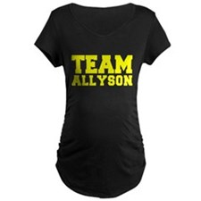 TEAM ALLYSON Maternity T-Shirt