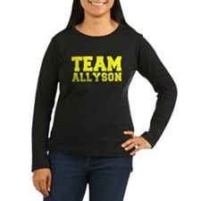 TEAM ALLYSON Long Sleeve T-Shirt