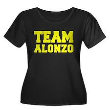 TEAM ALONZO Plus Size T-Shirt