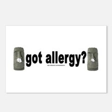 Allergy Moais Postcards (Package of 8)