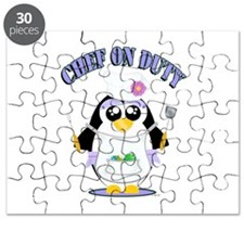 Chef on Duty Penguin female Puzzle