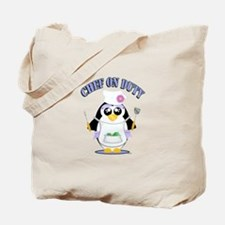 Chef on Duty Penguin female Tote Bag