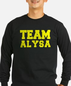 TEAM ALYSA Long Sleeve T-Shirt