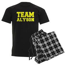 TEAM ALYSON Pajamas
