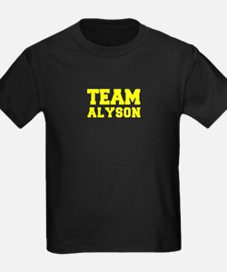 TEAM ALYSON T-Shirt