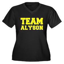TEAM ALYSON Plus Size T-Shirt