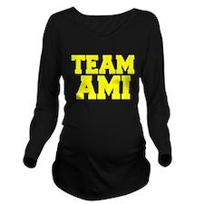 TEAM AMI Long Sleeve Maternity T-Shirt