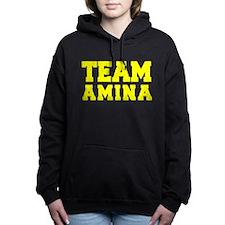 TEAM AMINA Women's Hooded Sweatshirt